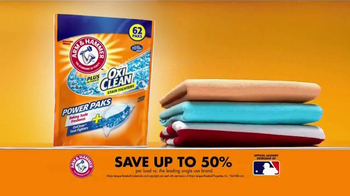 Arm and Hammer Plus OxiClean Power Paks TV Spot, 'Powerful Combination' - Thumbnail 7