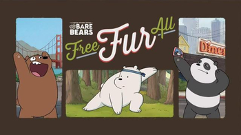 We Bare Bears Free Fur All TV Spot, 'Panda Selfie'