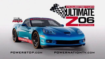 Powerstop Ultimate Z06 Sweepstakes TV Spot, 'Enter to Win'