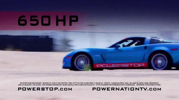 Powerstop Ultimate Z06 Sweepstakes TV Spot, 'Enter to Win' - Thumbnail 1