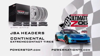 Powerstop Ultimate Z06 Sweepstakes TV Spot, 'Enter to Win' - Thumbnail 4