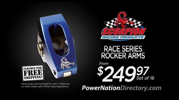 PowerNation Directory TV Spot, 'Wheel Centers, Emissions Headers and More' - Thumbnail 5