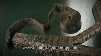 Design Engineering Titanium Exhaust Wrap TV Spot, 'Be Cool' - Thumbnail 3