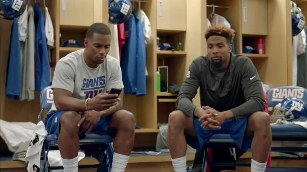 Nfl Fantasy Football Tv Commercial Locker Room Featuring Victor
