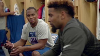 NFL Fantasy Football TV Spot, 'Locker Room' Featuring Victor Cruz - Thumbnail 2