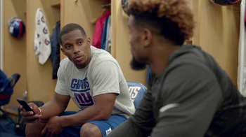 NFL Fantasy Football TV Spot, 'Locker Room' Featuring Victor Cruz - Thumbnail 5