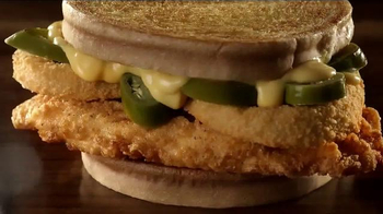 Jack in the Box Spicy Nacho Chicken Sandwich TV Spot, 'Pool Hall' - Thumbnail 4