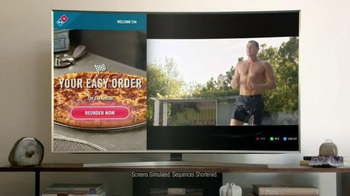 Domino's TV Spot, 'Eva Loves TV' Featuring Eva Longoria - Thumbnail 3