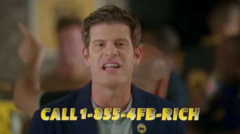 Buffalo Wild Wings TV Spot, 'Football Rich!' Featuring Steve Rannazzisi - Thumbnail 6