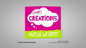Crayola Creations Thread Wrapper TV Spot, 'Get Wrapped Up' - Thumbnail 9