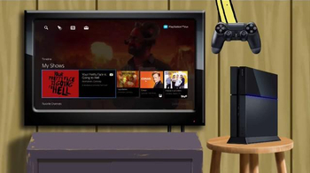 PlayStation Vue TV Spot, 'Adult Swim: Aqua Teen Hunger Force' - Thumbnail 4