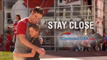 Cincinnati USA Regional Tourism Network TV Spot, 'Stay Close' - Thumbnail 2