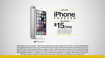 Sprint iPhone 6 TV Spot, 'iPhone Forever Revolution ' - Thumbnail 5