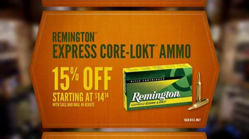 Cabela's Fall Great Outdoor Days TV Spot, 'Rifles, Bows and Ammo' - Thumbnail 7