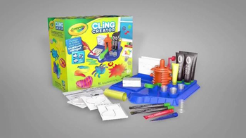 Crayola Cling Creator TV Spot, 'How Do You Cling?' - Thumbnail 8