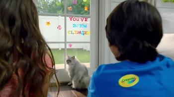 Crayola Cling Creator TV Spot, 'How Do You Cling?' - Thumbnail 7