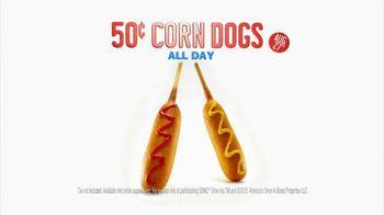 Sonic Drive-In TV Spot, '50 Cent Corn Dog Alert' - Thumbnail 7