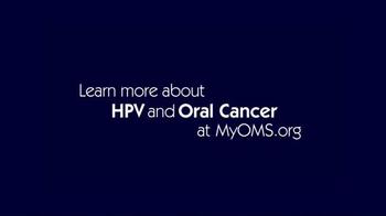 AAOMS TV Spot, 'Oral Cancer' - Thumbnail 7