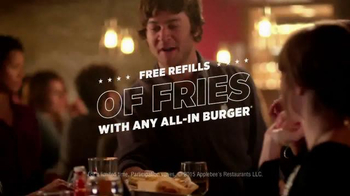 Applebee's All-Day Brunch Burger TV Spot, 'More Fries, Please' - Thumbnail 7