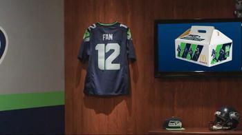 McDonald's Hawks Box TV Spot, 'True Seahawks Fan' - 176 commercial airings