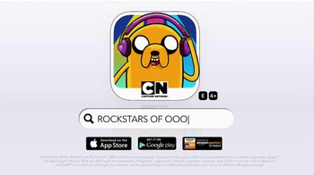 Adventure Time Rockstars of Ooo TV Spot, 'Rock Royalty' - Thumbnail 5
