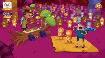Adventure Time Rockstars of Ooo TV Spot, 'Rock Royalty'