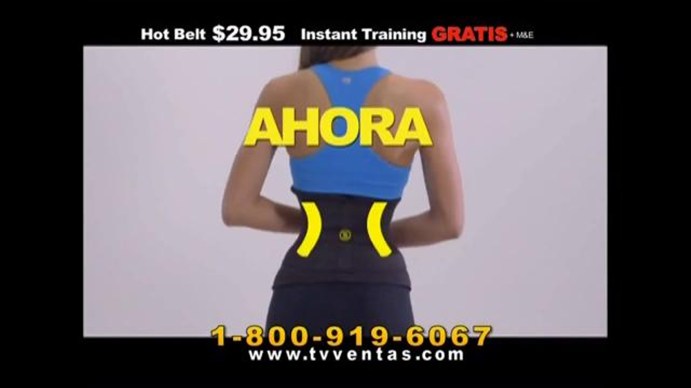 12f6834d8ce Hot Shapers Hot Belt TV Commercial