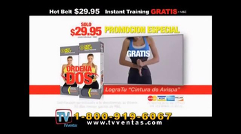 Hot Shapers Hot Belt TV Spot, 'Nuevo estilo' [Spanish] - Thumbnail 9