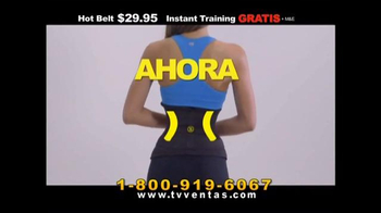 Hot Shapers Hot Belt TV Spot, 'Nuevo estilo' [Spanish]