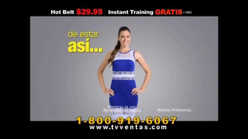 Hot Shapers Hot Belt TV Spot, 'Nuevo estilo' [Spanish] - Thumbnail 3