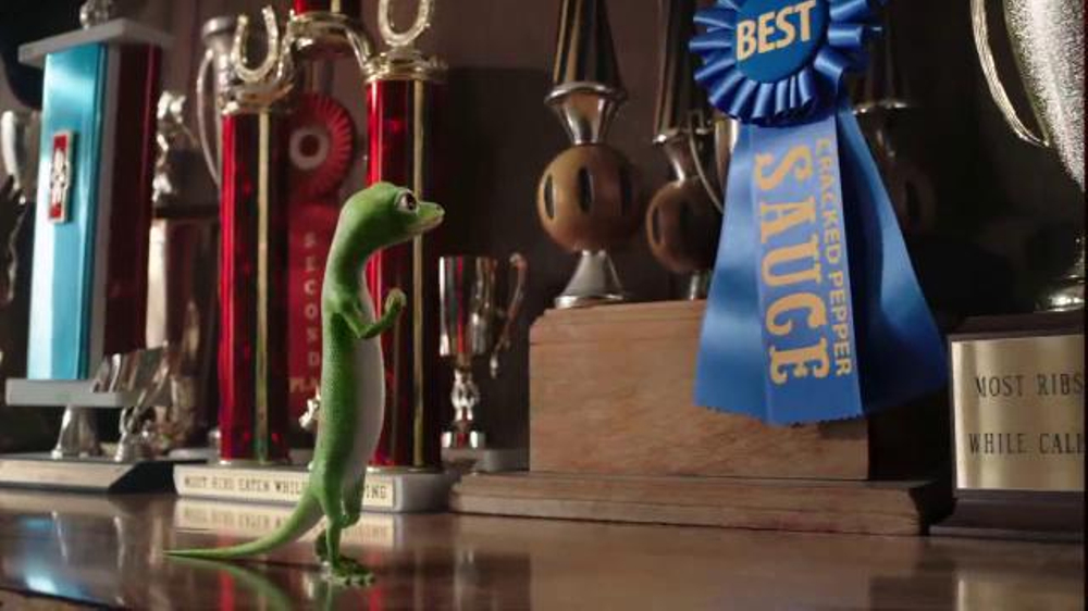 GEICO App TV Commercial, 'BBQ Awards' Song by Tag Team