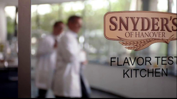 Snyder's of Hanover TV Spot, 'Flavor Test Kitchen' Song by Patsy Cline - Thumbnail 1