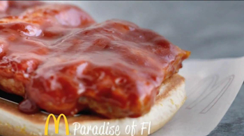 McDonald's McRib TV Spot, 'Paradise of Flavor' - Thumbnail 1