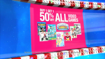 Toys R Us Update TV Spot, 'Buy 1 Get 1 Video Games' - Thumbnail 5