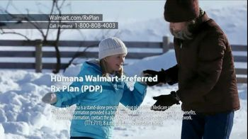 Humana Walmart-Preferred Rx Plan TV Spot, 'Snow' - 184 commercial airings
