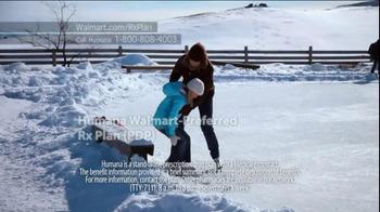 Humana Walmart-Preferred Rx Plan TV Spot, 'Snow' - Thumbnail 1