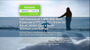 Humana Walmart-Preferred Rx Plan TV Spot, 'Snow' - Thumbnail 9
