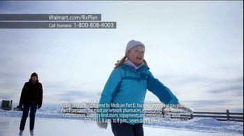 Humana Walmart-Preferred Rx Plan TV Spot, 'Snow' - Thumbnail 4