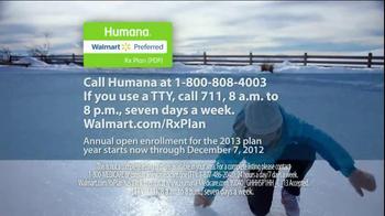 Humana Walmart-Preferred Rx Plan TV Spot, 'Snow' - Thumbnail 8