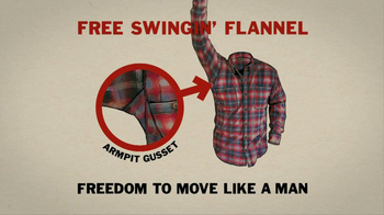 Duluth Trading Free Swingin' Flannel TV Spot, 'Manly Christmas' - Thumbnail 10