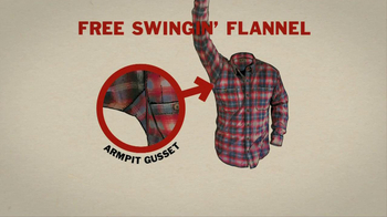 Duluth Trading Free Swingin' Flannel TV Spot, 'Manly Christmas' - Thumbnail 9