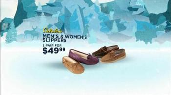Cabela's Christmas Sale TV Spot, 'Slippers'  - Thumbnail 4