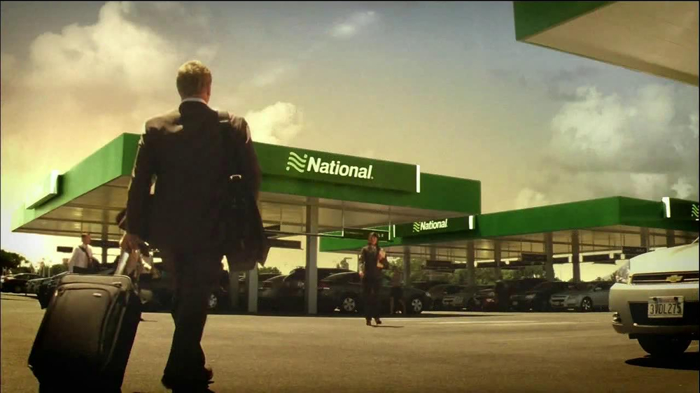 National Car Rental TV Commercial, 'Airport' Featuring ...
