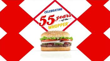 Burger King Whopper TV Spot, '55 Years' - Thumbnail 1