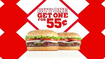 Burger King Whopper TV Spot, '55 Years' - Thumbnail 4
