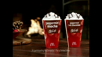 McDonald's Peppermint Mocha and Hot Chocolate TV Spot, 'Joy of Unwinding' - Thumbnail 8