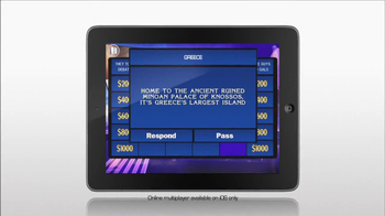 Jeopardy Mobile Game TV Spot - Thumbnail 3