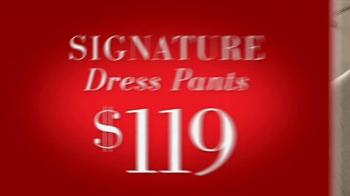 JoS. A. Bank Saturday Event TV Spot, 'Sportcoats, Dress Pants, Sportshirts' - Thumbnail 4