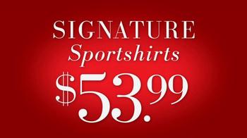 JoS. A. Bank Saturday Event TV Spot, 'Sportcoats, Dress Pants, Sportshirts' - Thumbnail 6