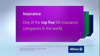 Allianz Corporation TV Spot 'Accolades'